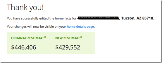 Zillow revised Zestimate. v.2png