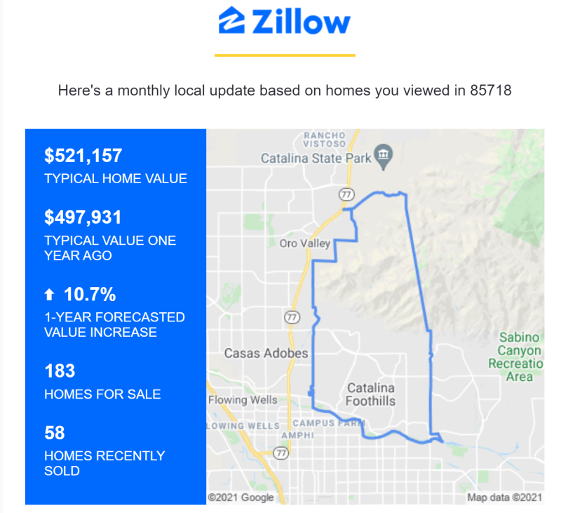 Zillow 183 homes for sale